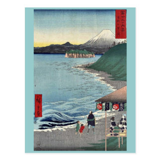 Shichirigaham by Ando,Hiroshige Postcard