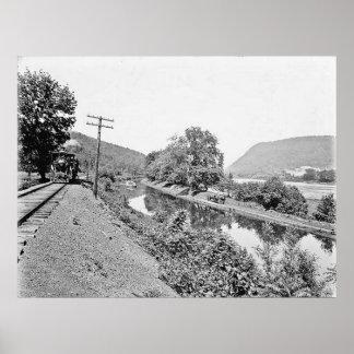 Shickshinny Pa. Canal Print