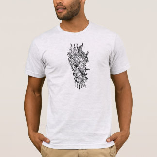 Shield and Sword Fencing Logo T-Shirt