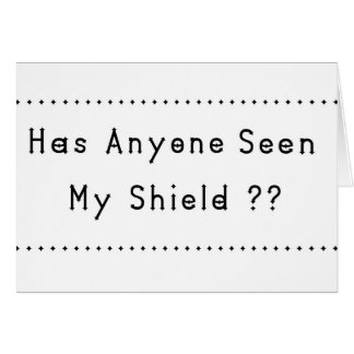 Shield Card
