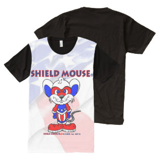 SHIELD MOUSE Classic Panel Tee Shirt 2016
