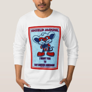 "SHIELD MOUSE  ""I WANT YOU...."" V2 T-Shirt"
