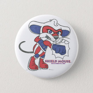 SHIELD MOUSE Patriotic Punch!  Button