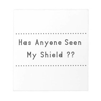 Shield Notepad
