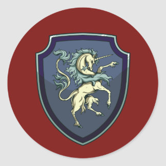 Shield of the Unicorn Sticker