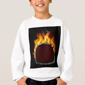 Shield on Fire Sweatshirt
