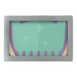 Shield Protection Rectangular Belt Buckles