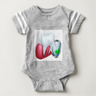Shield Tooth and Gum Baby Bodysuit