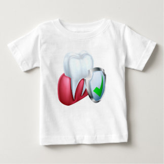 Shield Tooth and Gum Baby T-Shirt