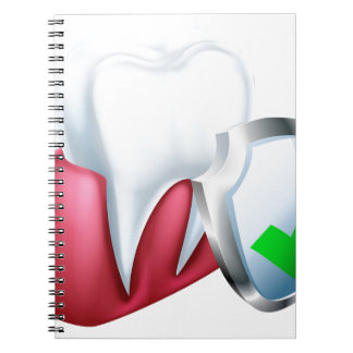 Shield Tooth and Gum Notebook