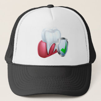 Shield Tooth and Gum Trucker Hat