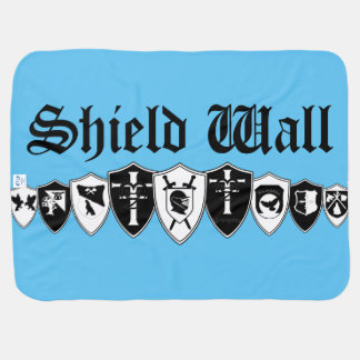 Shield Wall Baby Blanket