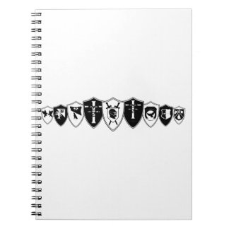 Shield Wall RDR Notebooks