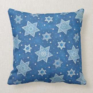 Shields of David Throw Pillow