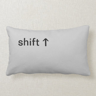 Shift Button Lumbar Pillow