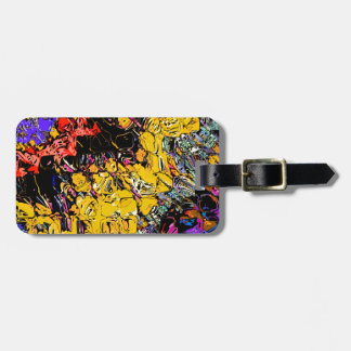 Shifting Shapes And Colors Luggage Tag