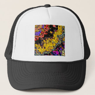Shifting Shapes And Colors Trucker Hat