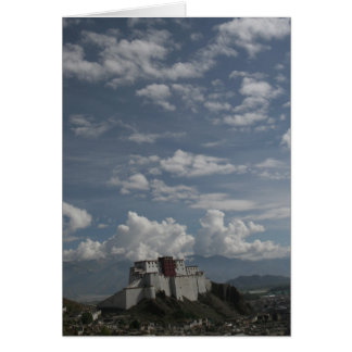 Shigatse Dzong Greeting Card