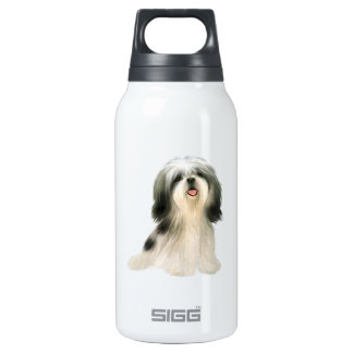 Shih Tzu (3) - illustrated Insulated Water Bottle