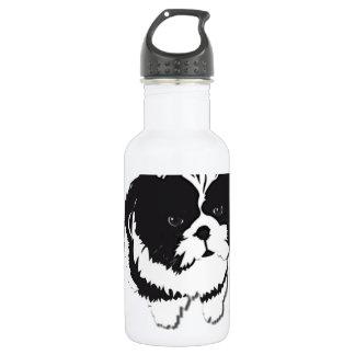 Shih Tzu Black White Dog Pet