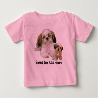Shih Tzu Breast Cancer Toddler Unisex Shirt