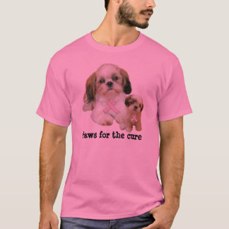 Shih Tzu Breast Cancer Unisex Shirt