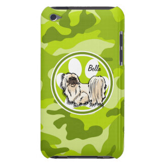 Shih Tzu camo vert clair camouflage Coque Barely There iPod