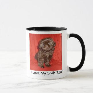 Shih Tzu Chocolate Puppy  Mug