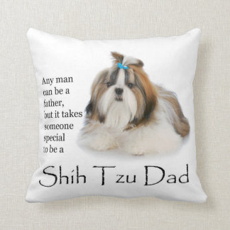 Shih Tzu Dad Pillow