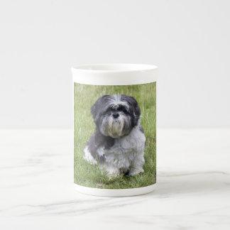 Shih Tzu dog beautiful cute photo bone china mug