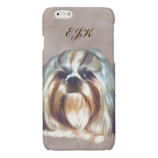 Shih Tzu Dog Customizable Monogram