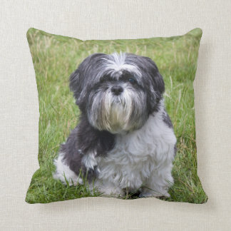 Shih Tzu dog cute beautiful photo cushion pillow