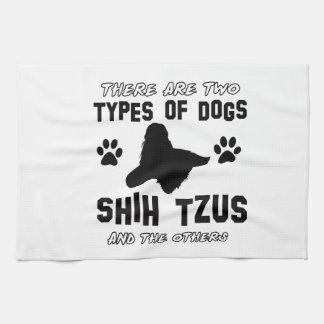 shih tzu dog Designs Kitchen Towel