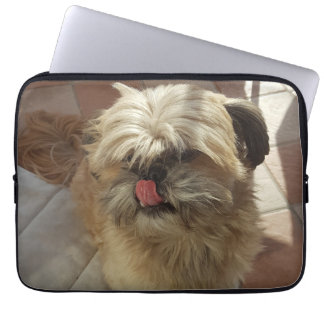 Shih Tzu dog laptop sleeve