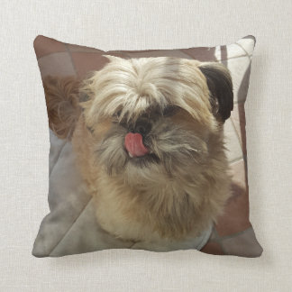 Shih Tzu dog throw cushion