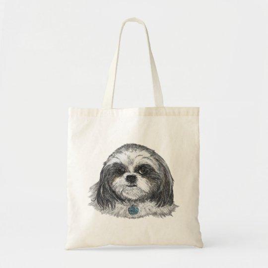 Shih Tzu Dog Tote Bag