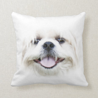 Shih Tzu face Throw Pillow