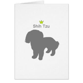 Shih Tzu g5 Card