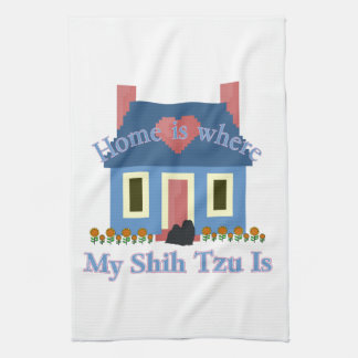 Shih Tzu Home Is Towel