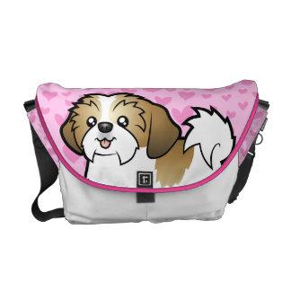 Shih Tzu Love (puppy cut) Courier Bag