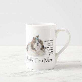Shih Tzu Mom Bone China Mug