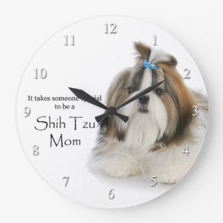 Shih Tzu Mom Clock