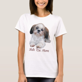 Shih Tzu Mom Ladies T-Shirt