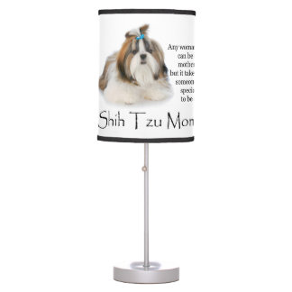 Shih Tzu Mom Lamp