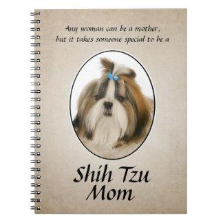 Shih Tzu Mom Notebook