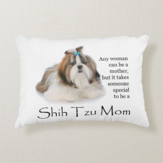 Shih Tzu Mom Pillow