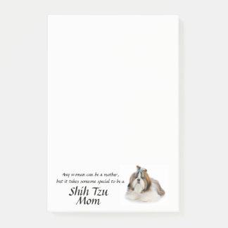 Shih Tzu Mom Post-It Notes