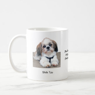 Shih Tzu Mug - With two images and a motif