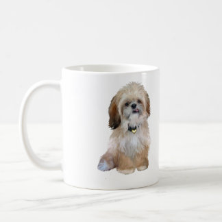 Shih Tzu (P) - with tongue out Coffee Mug