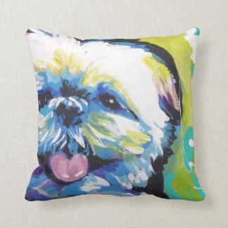 Shih Tzu Pop Art Throw Pillow